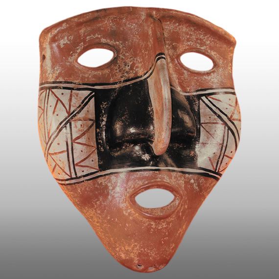 Cultura Tolima MASCARA / TOLIMA ANTHROPOMORPHIC MASK (XL)